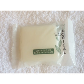 EcoLogical Cleansing Soap bilingual flow wrap 0.78 oz. 400/Case