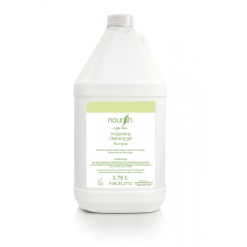 Nourish® Lemongrass Body Wash Cleansing Gel Gallon 3.78 L