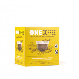 OneCoffee Peruvian Dark Coffee Single Serve Cups 72/Case