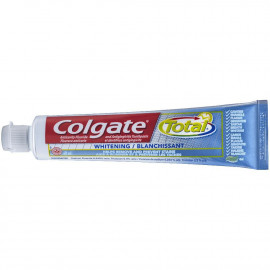Colgate Total Whitening Anticavity Fluoride Gel Toothpaste 70 mL 12/Pack