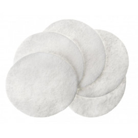 Makeup Remover Cotton Quilted Pads 100's pad 12/Case