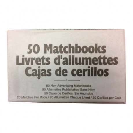 Matchbooks Book Style 50 Books/Pack