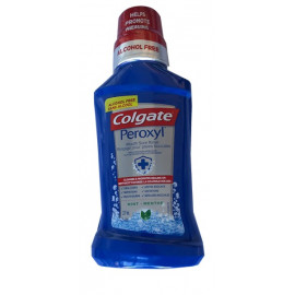 Colgate Peroxyl Mouth Sore Antiseptic Rinse, Mild Mint 8 oz.  6/Pack
