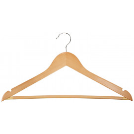 Suit Hangers Solid Wood Pack of 10