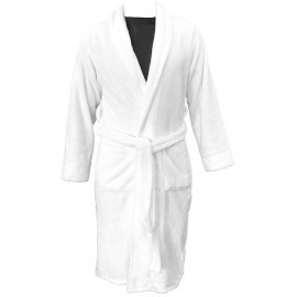 Dolly Fleece w/ Shawl Collar 4XL size Hotel Spa Robes 1/Pack