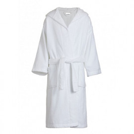 Dolly Kids Terry Velour Hooded Robes 3-6 years old White Color
