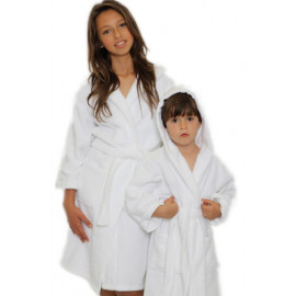 Kids Terry Hooded Bathrobe- Multi-color Pack of 6