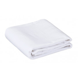 "Flannel Massage Table sheets FITTED 48"" x 88"" Soft, Durable White 3/Pack"