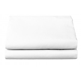 "Thomaston Mills T-180 Spa Sheet FITTED 36""x 80""x 9"" Made In USA White 6/Pack"