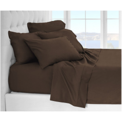 Microfiber Sheet Sets with Deep pockets- Hypoallergenic Cocoa Color