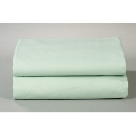 "Thomaston Mills T-180 Spa Sheet FITTED 36""x 80""x 9"" Made In USA Green 3/Pack"