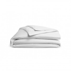 "Dolly Economy TC 200 Plain White w/ Flap Duvet Cover Full 90""x 82"" Size White 1/Pack"