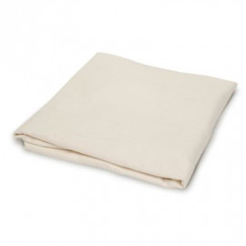 "Hospital Flannel Bath Blankets 100%Cotton 72""x 90"" Ivory 2/Pack"