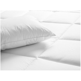 "Duvet Comforter All Season Microfiber Shell 100% Polyfill Queen Size 88"" x 88"" White 2/Pack"