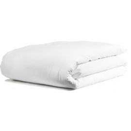 "Merit Collection TC 300 Sateen w/ FLAP Duvet Cover Double 90""x 82"" Size White 1/Pack"
