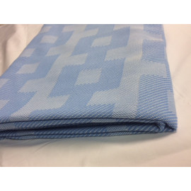 "Thermal Blankets Warm Spread Snag Free TWIN size 60""x 90"" Light Blue Pack of 2"