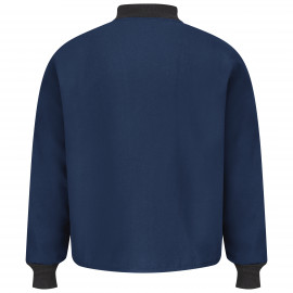 Bulwark Sleeved Jacket Liner 88/12 DWR 7.2oz Navy