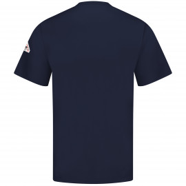Bulwark Short Sleeve Tagless T-shirt Navy 2/Pack