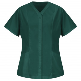 Women's easy wear Tunic Emerald color 2/Pack