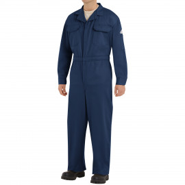 Bulwark Men Deluxe Coverall Navy Color