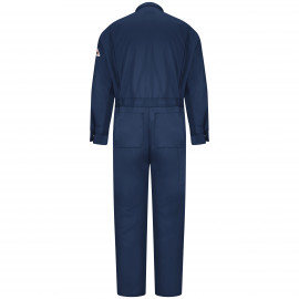 Bulwark Men 9OZ Deluxe Coverall Navy Color