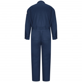 Bulwark Men 7 OZ Deluxe Coverall Navy Color