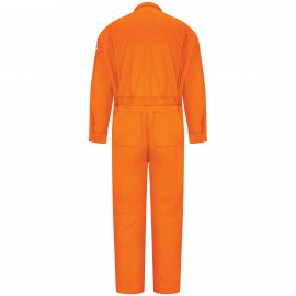 Bulwark Men Deluxe Coverall Nomex 6 OZ Orange Color