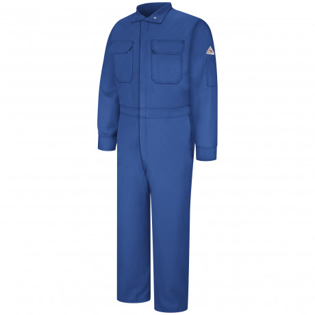 Bulwark Men Deluxe Coverall Nomex 6OZ Royal Blue Color
