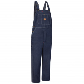 Red Kap Indigo Denim Bib overall w/ Pockets 12/Pack