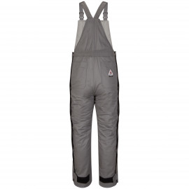 Bulwark Deluxe Insulated Bib Overall Grey color