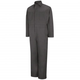 Red Kap Twill Action-Back Coverall Charcoal 2/Pack