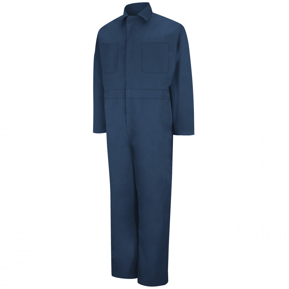 Red Kap Twill Action-Back Coverall Navy Color 2/Pack