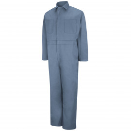 Red Kap Twill Action-Back Coverall Postman Blue Color 2/Pack