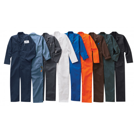 Red Kap Twill Action-Back Coverall Postman Blue 2/Pack