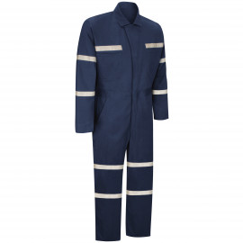 Red Kap Snap-Front Cotton Coverall Navy Color 2/Pack