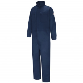 Bulwark Men Classic Coverall With Reflective Trim Navy Color