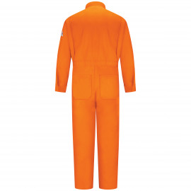 Bulwark Men Deluxe Coverall Orange Color