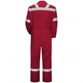 Bulwark Men Premium Coverall Red Color