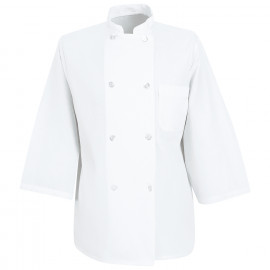 Chef Designs Three-Quarter Sleeve Chef Coat 12/Pack
