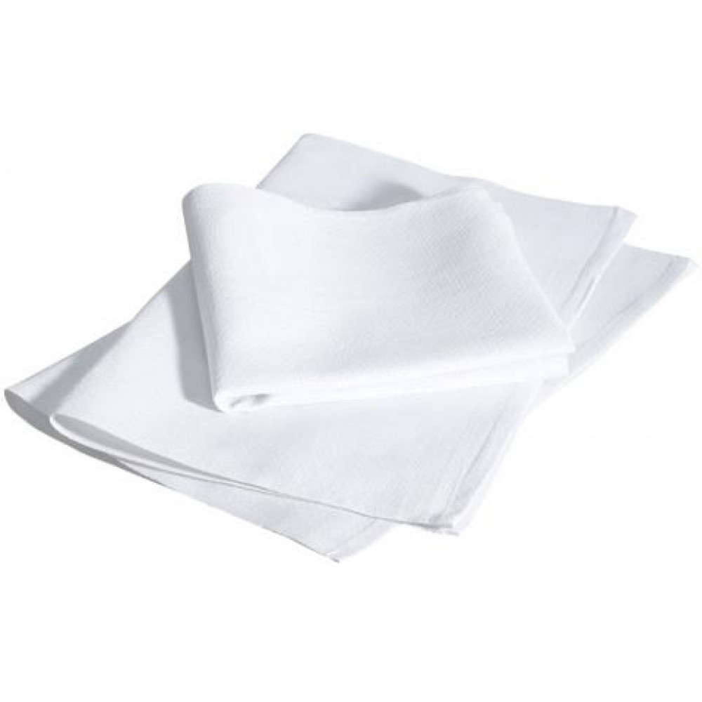 "Kitchen Huck Towels 100% Cotton White 32""x17"" 12/Pack"