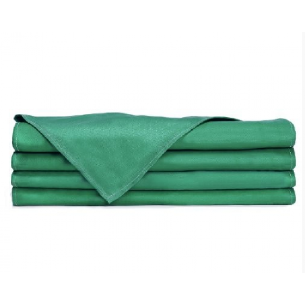 "Kitchen Huck Towels 100% Cotton Lint Free Jade Green 32""x"