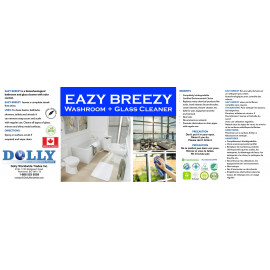 Hospitality Emporium Eazy Breezy Washroom Glass Cleaner Gallon bottle 4.0 L