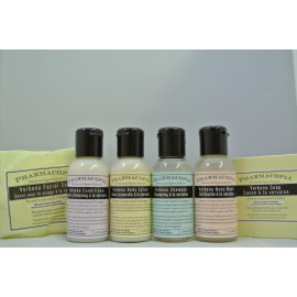 Pharmacopia® Toiletries Travel kit Made in Canada 3/Pack
