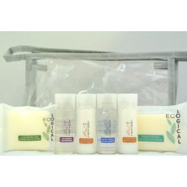 EcoLOGICAL® Toiletries Travel kit Made in Canada 4/Pack