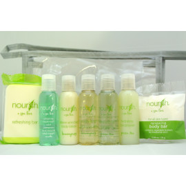 Nourish® Bottle Toiletries Travel kit Made in Canada 4/Pack