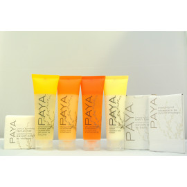 Paya® Tube Toiletries Travel Kit Made in USA 3/Pack