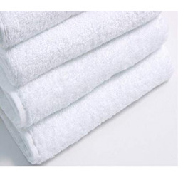 Dolly Premium Terry Velour 100% Cotton 5 Star Hospitality Towels White Color
