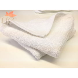 Shangri-La  Premium 100% Combed Cotton Hand Towels 32x16 wt. 5.00 lbs/dz. White 12/Pack