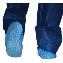 Disposable Shoe Covers Non-woven Fabrics Safe Dust proof Blue 100 Pairs/ box