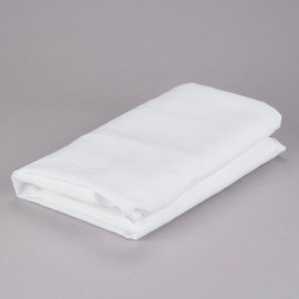 "Table Cover Heavy Duty 100% Polyester Cloth Round 90"" White 2/Pack"